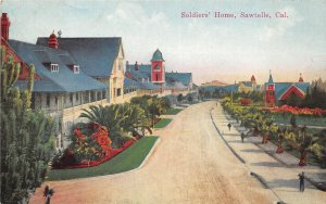 G26/ Sawtelle California Postcard c1910 Soldiers Home Homes