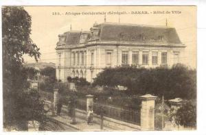 Afrique Occidentale, Hotel De Ville, Dakar, Senegal, 1900-1910s