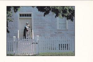 Victorian Stone Shop Kentucky Eleanor Potter Sweeper Postcard