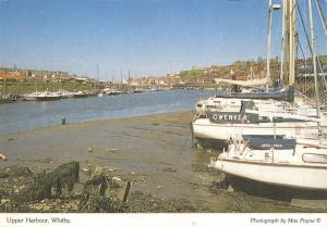 Whitby Postcard, Upper Harbour, North Yorkshire by Max Payne O71