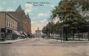 PIQUA , Ohio, 1910 ; Market Square Looking East
