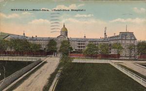 Hotel-Dieu Hospital, Montreal, Quebec, Canada, PU-1918