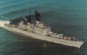 U S S HARRY E YARNELL (CG-17)