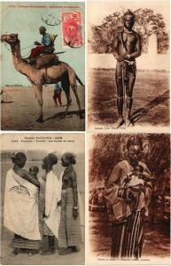 FRENCH SUDAN SOUDAN MALI 74 Vintage AFRICA Postcards Mostly pre-1940