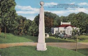 Mississippi Vicksburg Surrender Monument And Park Administration Building Nat...