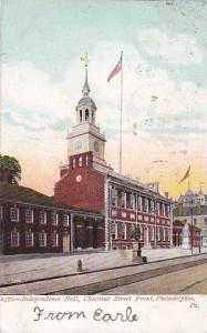 Independence Hall Chestnut Street front, Philadelphia, Pennsylvania, PU-1906