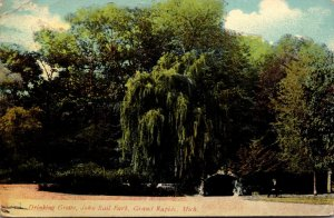 Michigan Grand Rapids John Ball Park Drinking Grotto 1911