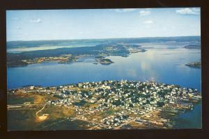 Lubec, Maine/ME Postcard, Spectacular Aerial View