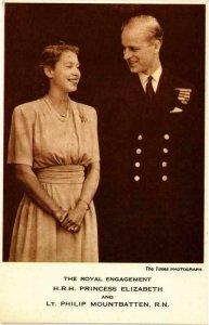 CPM AK Princess Elizabeth&L.T. Philip Mountbatten BRITISH ROYALTY (765947)