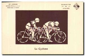Postcard Old Bike Cycle Cycling