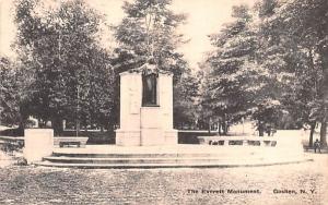 Everett Monument Goshen, New York Postcard