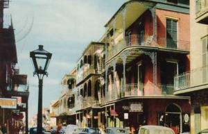 Louisiana New Orleans Saint Peter Street 1956
