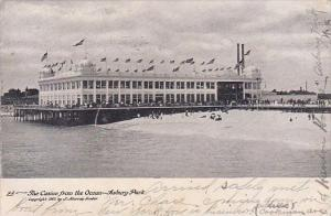 New Jersey Asbury Park The Casino From The Ocean 1906