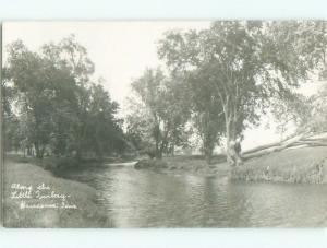 Pre-1920's rppc WAUCOMA Near Jackson Junction & Calmar & Decorah IA i5432
