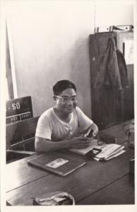 Vietnam Local Native In Classroom