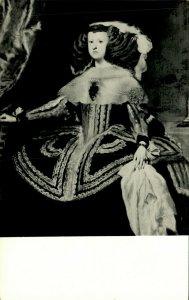 Mariana of Austria Exhibit Ringling Art Museum Real Photo Postcard RPPC