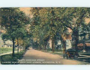 Divided-Back STREET SCENE Rochester New York NY F1327