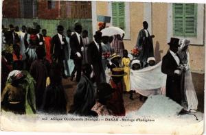 CPA Senegal-Dakar-Mariage d'Indigénes (235451)