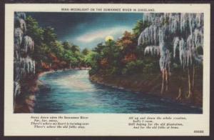 Moonlight on the Suwannee River Postcard