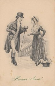 M.M.VIENNE Nr. 874 , 1911 , Romance Couple : M. MUNK