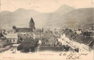 Switzerland Bulle et le Moléson 02.99