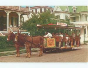 Pre-1980 WINDSOR HOTEL SIGN ON VICTORIAN VILLAGE TROLLEY Cape May NJ E9034