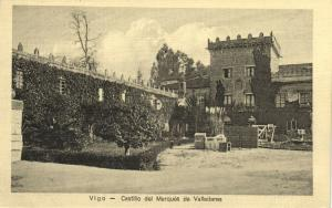spain, VIGO, Castillo del Marques de Valladares (1920s)