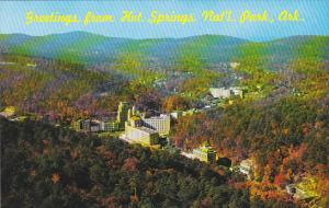 Arkansas Hot Springs Greetings From Aerial View