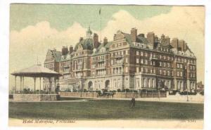 Folkestone , Shepway District ,Kent, England. Hotel Metropole, 00-10s