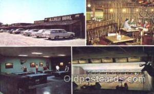 Hillbilly Bowl, Kimberling City, MO, USA Bowling, Bowling Alley, Postcard Pos...