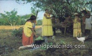 Guaymi Indians Republic of Panama Panama Unused