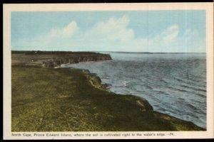 Prince Edward Island NORTH CAPE where the Soil is Cultivated PECO - White Border