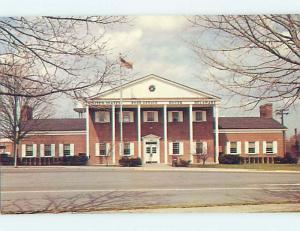 Unused Pre-1980 POST OFFICE SCENE Dover Delaware DE hs1058@