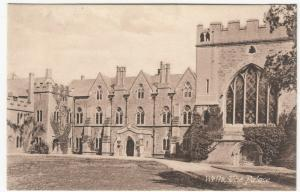 Somerset; Wells, The Palace PPC By Frith, Unposted, c 1910's