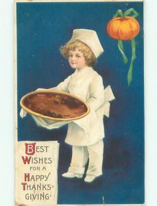 Pre-Linen Thanksgiving BAKER BOY HOLDING FOOD AB4308