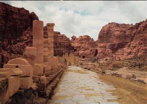Jordan Heiliges land Petra die Felsenstadt