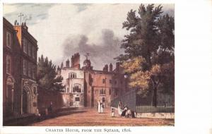 Vintage Postcard Charter House from the Square, Godalming, Surrey (1816) #G