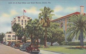 Florida Ocala Post Office and Hotel Marion Curteich