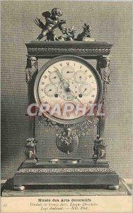 Old Postcard Musee des Arts Decoratifs Pendulum Bronze Dore Epoque Management