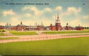 Michigan Dearborn The Edison Institute and Museum