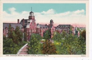 Virginia Lynchburg Randolph-Macon Woman's College Curteich