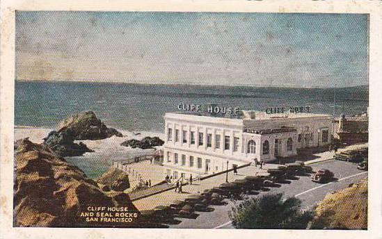 California San Francisco Cliff House And Seal Rocks