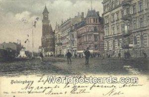 Jernvagsgatan, Helsingborg Sweden 1902 Writing on front