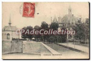 Postcard Old Castle Bournel