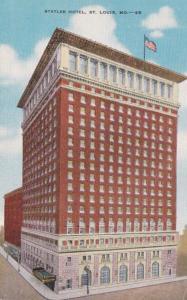 Missouri St Louis The Statler Hotel