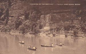Canoeing On The Kentucky River Y M C A Camp Daniel Boone