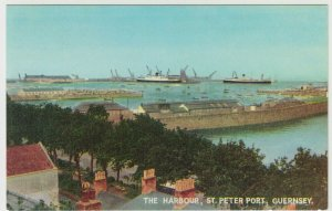 Guernsey; The Harbour, St Peter Port PPC By Guernsey Press, Unposted, c 1950's 2