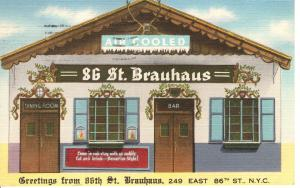 US   PC2121 86TH STREET BRAUHAUS, NEW YORK CITY
