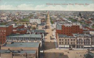 Canada Winnipeg William Avenue Looking West