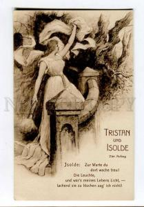 257151 WAGNER Opera HERO Tristan & Isolde by LEEKE vintage PC